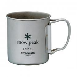 Кружка SNOW PEAK Ti-Single 220