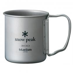 Кружка SNOW PEAK Ti-Single 300 FH