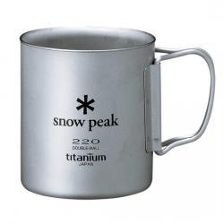 Термокружка SNOW PEAK Titanium Double 220 Mug FH
