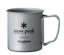 Кружка SNOW PEAK Ti-Single 450
