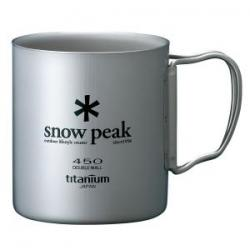 Термокружка SNOW PEAK Titanium Double 450 Mug