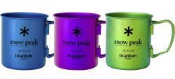 Кружка SNOW PEAK Ti-Single 450 Colored