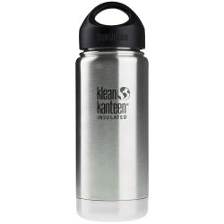 KLEAN KANTEEN Vacuum Insulated 473 ml Brushed Stainless