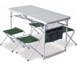 Набор мебели PINGUIN Set Table + 4 Stools