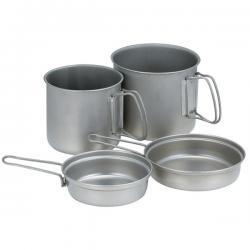 Набор посуды SNOW PEAK Trek Combo Titanium