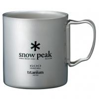 Термокружка SNOW PEAK Titanium Double 600 Mug