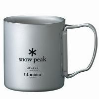 Термокружка SNOW PEAK Titanium Double 300 Mug FH