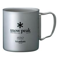 Термокружка SNOW PEAK Titanium Double 450 Mug