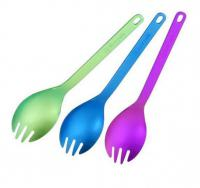 Ложка-вилка SNOW PEAK Titanium Spork Color
