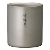 Термостакан SNOW PEAK Ti-Double H200 Stacking Mug